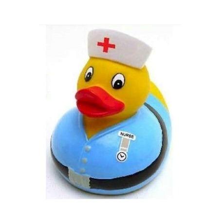Gummi ente Krankenschwester LUXY  Luxy