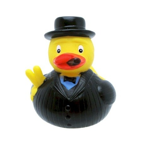 Rubber duck Winston Churchbill LUXY  Luxy ducks