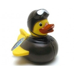 Rubber duck Pilot Retro LUXY