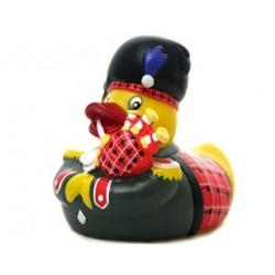 Rubber duck Scotsman Piper LUXY