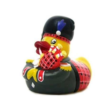Rubber duck Scotsman Piper LUXY  Luxy ducks