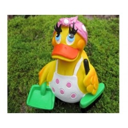 Cleaning lady duck Lanco  Lanco