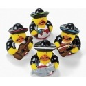 Rubber duck mini mariachi (per 4)