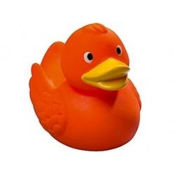 Badeend Ducky 7,5 cm DR oranje (bij 100: Eur 1,50)  Overige kleuren