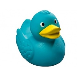 Badeend Ducky 7,5 cm DR turquoise