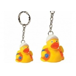 Keychain duck construction worker DR