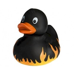 Rubber Duck fire & flames DR