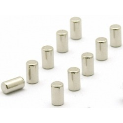 Supersterke magneetjes magnum zilver set van 10