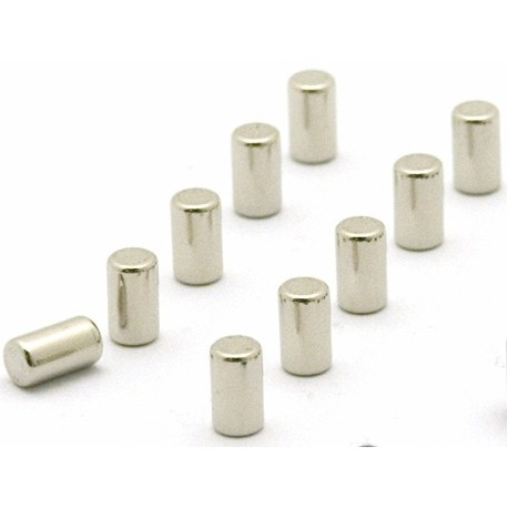 Super strong magnum silver set of 10  Magnets