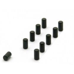 Supersterke magneetjes magnum zwart set van 10