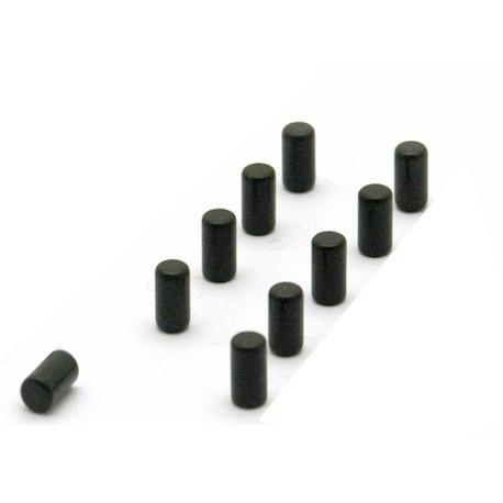 Super starke magneten schwarz magnum set von 10  Magneten