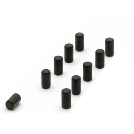 Supersterke magneetjes magnum zwart set van 10  Magneetjes