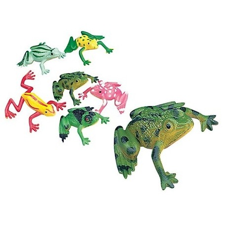 Frogs bag 3 cm (per 72)  Order also FROGS