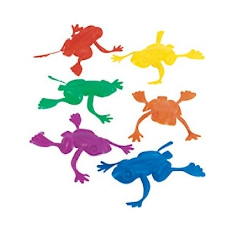 Jumping frog (144 pieces)  Frogs