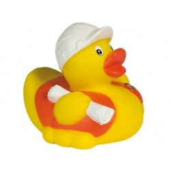 Rubber duck construction worker DR