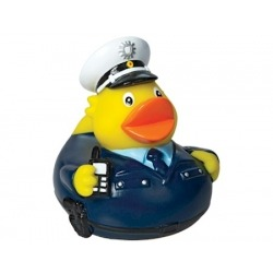 Rubber duck policeman DR