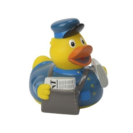 Rubber duck mailman DR  Profession ducks
