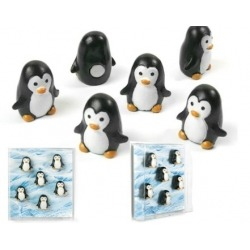 Mini fridge magnets pinguin  Magnets