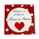 Rubber duck heart red B  Wedding gifts