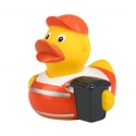 Rubber duck Garbage man DR
