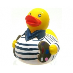 Rubber duck Picasso LUXY  Luxy ducks