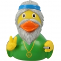 Rubber duck Hippie man LILALU