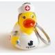 Schlüsselanhänger ente Krankenschwester  Schlüsselringen
