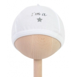 BAMBAM I am a star baby hat