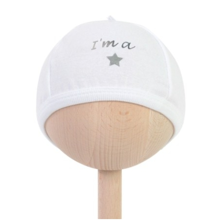 BAMBAM I am a star baby hat  Babyshower gift