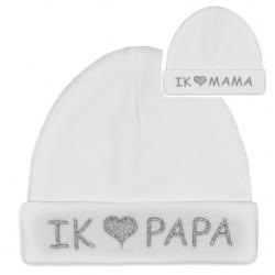Babymuts I love Papa of I love Mama  Home