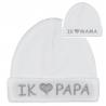 Babymuts I love Papa of I love Mama