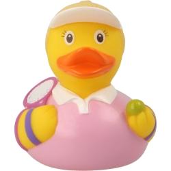 Rubber duck Tennis woman playerLILALU