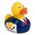 Rubber duck  businessman phone DR