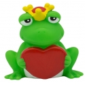Frog with heart LILALU