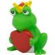 Kikker met hart LILALU  Lilalu