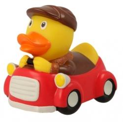 Badeend automobilist rood LILALU  Lilalu