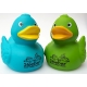 Rubber duck Ducky 7.5cm DR turquoise (100: Eur 1,50)  Other colors