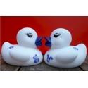 Badeend Delfts Blauw mini