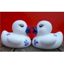 Rubber duck Delfts Blue mini