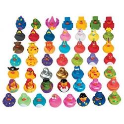 Set of 100 different ducks  Mini ducks
