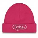 Babymuts roze Babe