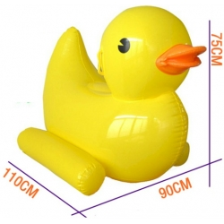 Inflatable rubber duck large floating