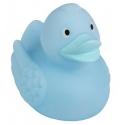 Badeend Ducky 7,5 cm DR pastel blauw