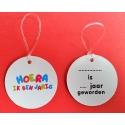HOERA IK BEN JARIG label