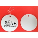 JUST MARRIED label