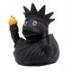 Badeend Vrijheidsbeeld Zwart LILALU  Lilalu