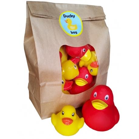 DUCKYbag rood & geel 8 stuks  Verpakking