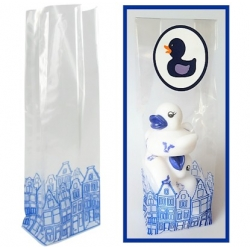 Delfts Blauw plastic bag  Packing