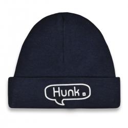 Baby hat dark blue Hunk  Babyshower gift