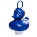 Ente mit Haken groß blau